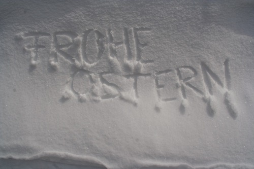 Frohe Ostern 2010