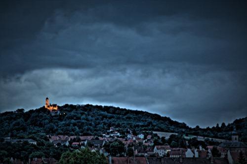 Blick auf Bamberg 08/2010