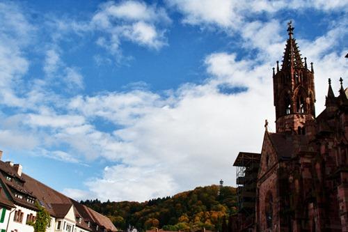 Himmel über Freiburg